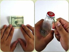 How to Open a Beer Bottle with a Dollar Bill