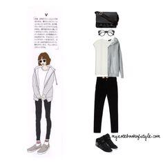 V ideal girl fashion