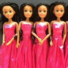 Beautiful African Dolls now on sale !