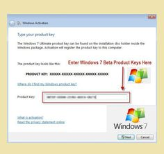 working windows 7 product key