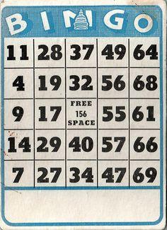 Fabulous Vintage Bingo Card by HA! Designs - Artbyheather, via Flickr