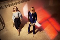 hollie may saker and maja salamon by glen luchford for charles & keith fall / winter 2016