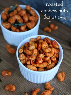 roasted cashew nuts recipe, roasted kaju, roasted cashews 2 ways with step by step photo/video. easy evening snack recipe can be enjoyed with masala chai.