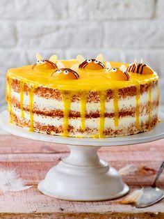 Weckt auch an miesen Tagen Sommergefühle! Ester Desserts, Easy Easter Desserts, Easter Recipes, Sweet Desserts, Homemade Cake Recipes, Healthy Dessert Recipes, Food Cakes, Cheesecake Recipes, No Bake Cake