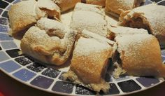 Sweet Recipes, New Recipes, Strudel, Food And Drink, Bread, Desserts, Hampers, Recipies, Tailgate Desserts