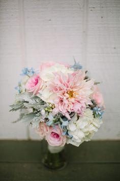 Pretty pastel bouquet: http://www.stylemepretty.com/california-weddings/malibu/2014/04/15/wedding-al-fresco-at-rancho-del-cielo/ | Driver Photo - http://driverphoto.net/