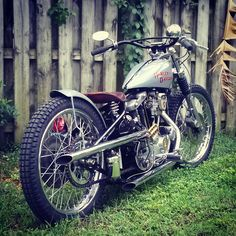 79 ironhead vintage racer styled bobber built by David Johnson in Clearwater Florida