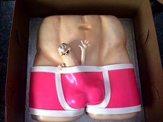 BACHELORETTE PARTY: hilarious cake idea.