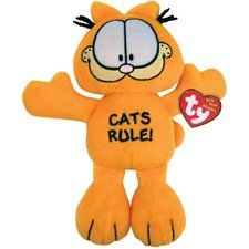 93a71449b0d TY Bow Wow Beanies Garfield - Cat s Rule Kids Toy Store