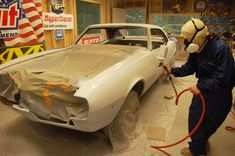 Auto body repair 101 the painting kansas city mo painting cl events lvlp spray gun for auto painting cars 101 cebu car painting choosing the … Automotive Paint Booths, Automotive Art, Auto Body Repair, Car Repair Service, Garage Paint Colors, Car Painting, Spray Painting, Painting Tips, Auto Body Work