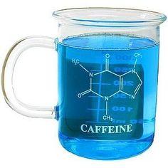 Chemistry caffeine coffee mug