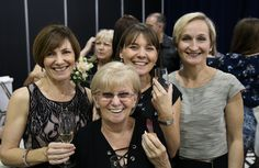 A great shot of Team Paddington (missing the wonderful Ellen and Michelle unfortunately) after the Queensland Brides magazine collection launch enjoying a glass of Champagne. #loveourjob  Great image by Bertossi Productions www.paddingtonweddings.com.au