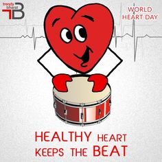 It's our heart that lets us live, love and laugh! This #WorldHeartDay , #TrendyBharat appeals to all of you to eat healthier, quit smoking and cut-down alcohol to make your heart healthy. A Healthy Heart means A Healthy You! #worldheartday