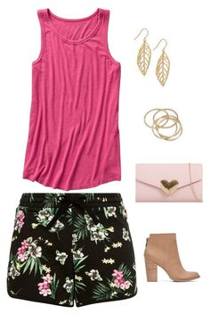 """""""Untitled #1709"""" by netteskytte on Polyvore featuring Gap, Lucky Brand, Giani Bernini and ABS by Allen Schwartz"""