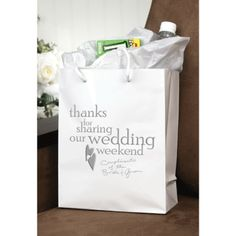 Welcome bags (we did these- super fun and a nice touch for out of town guests) can be done fairly cheaply