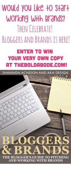 Are you interested i     Are you interested in working with Brands? Shannon from akadesign has written an ebook that lays it all out for you! Come check it out... it's amazeballs!  https://www.pinterest.com/pin/115334440431803446/