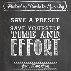 Photoshop words to live by, #4 on Behance