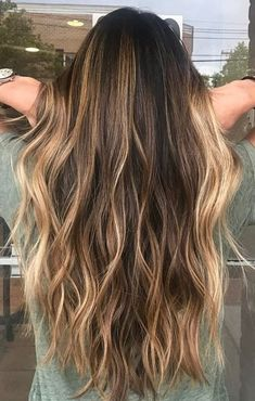Color Ideas for Long Hairstyles 2018 Perfect Bronde