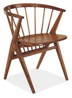 Soren Dining Chair in Walnut (Room & Board)