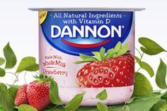 FREE Dannon Whole Milk Yogurt Cups At Walmart!