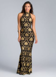 Even people who hate art and history will be moved by this baroque mermaid maxi dress.