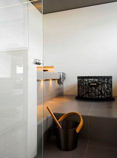 Cool sauna design