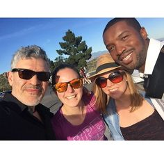 """Dennys Ilic - """"The crew and awesome Roger Cross! Fun day shooting this cool cat from my favorite shows! [24 