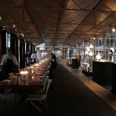 Eat Drink Design: a temporary restaurant in a greenhouse