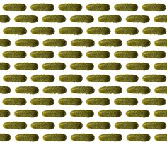 Lil' Pickles fabric by sufficiency on Spoonflower - custom fabric