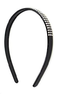 Add a sweet feminine touch with this trendy fashionable black head band