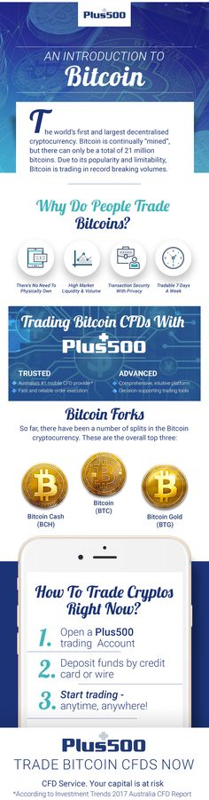 Trade the world's most popular Cryptocurrencies straight from your phone with the Plus500 App - No Commissions! New traders get AU$ 30 Welcome Bonus! CFD Service, T&Cs apply