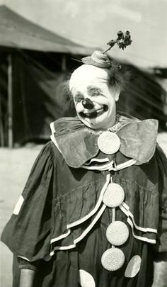Felix Adler was seen on the Ringling Bros. and Barnum & Bailey Circus when Harry Simpson took this photo in 1947.