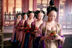 Curse of the Golden Flower-- I love this movie! The visuals are so stunning and the storyline is so enthusiastic!