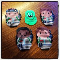 Ghostbusters hama beads by dorro85