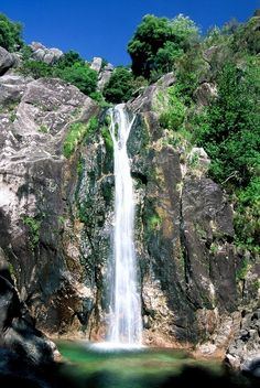 The Peneda-Gerês National Park - Portugal Places In Portugal, Portugal Travel, Beautiful Waterfalls, Beautiful Landscapes, How Far I Go, Portuguese Culture, Natural Park, Wonders Of The World, Places To See