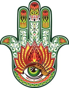 Arte vettoriale : Mano di HamsaHamsa More Pins Like This At FOSTERGINGER @ Pinterest