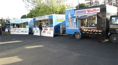Hire food trucks, freezer trucks and all things you will need for outdoor events.