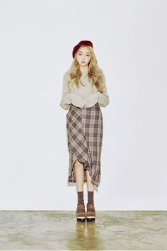 chuu_츄 - 츄(chuu) | 체크하나쯤은있지 skirt | skirt