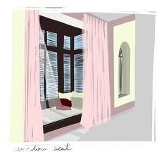 Moroccan window Seat/ VIC