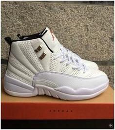 sports shoes 6977c 2478d Nike Air Jordan XII 12 Retro Rising Sun White Silver Men Shoes 130690-1631  Air
