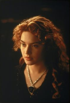 Still of Kate Winslet in Titanic: Perfect Makeup, Hair, and Feminine Grace. This is my goal look to a tee!