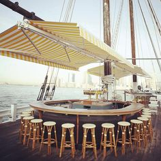 NYC boats to drink on this summer