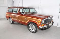 1983 Jeep Wagoneer Limited ... my dream car!