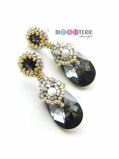 Diane earrings - instant download pattern