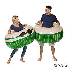 Throwing a luau or tropical beach party? Entertain your guests with fun party games! These inflatable Body Boppers are more sumo than hula and it's a ...