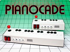 Pianocade chiptunes synthesizer: Allows you to make your own arcade style riffs