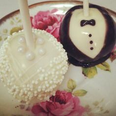 Bride Only Cake Pop option 2 on Etsy, $33.00