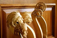 Eric is renowned for custom scroll carving. If you'd like to commission any custom carving work by Eric, contact us.