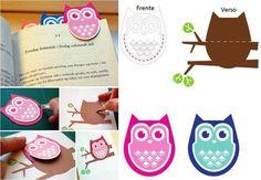 Owls, bookmarks, handmade, книжная закладка, сова