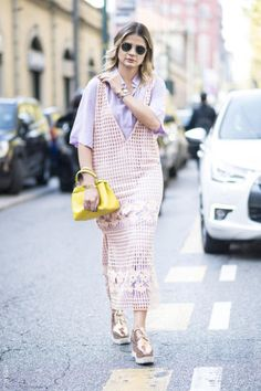 Milan Fashion Week: Street style with the coolest summer prints